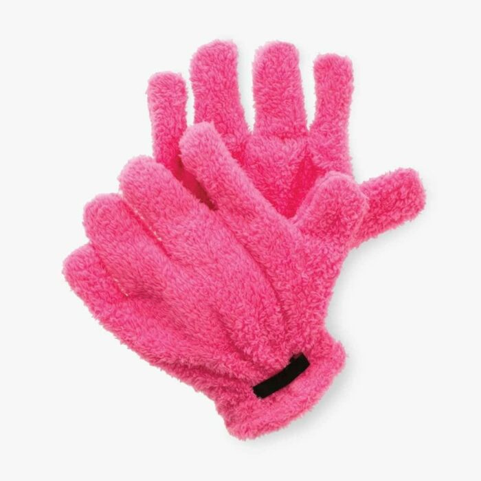 Pink Quick Dry Styling Gloves